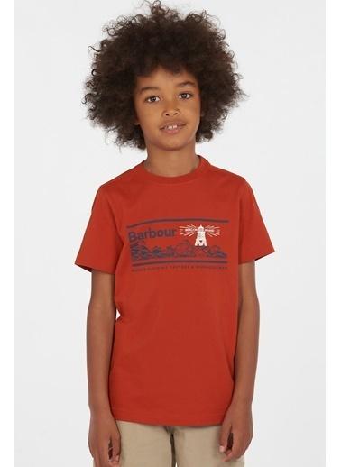 Barbour Erkek Çocuk Riley T-Shirt Re66 Paprika Kırmızı